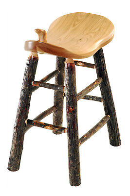 Hickory Rustic Bar Stool - Rustic Hickory 24