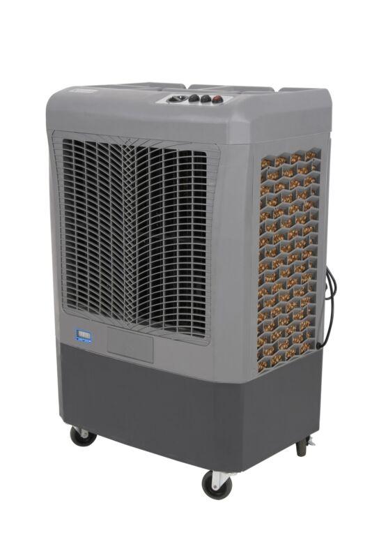 Hessaire MC37M Compact Portable 3,100 CFM Indoor/Outdoor Gray Evaporative Cooler