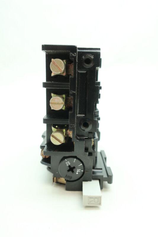 Siemens 3UA4200-7AJ Overload Relay 14-20a Amp