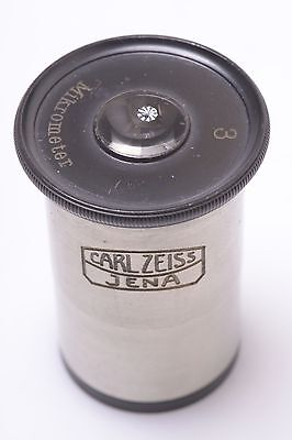 Carl Zeiss Micrometer Mikrometer Eyepiece No.3 Microscope Ocular Lens