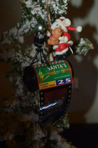 1997 Lustre Fame Ornament Mouse on Film Canister