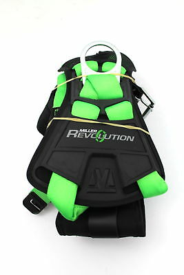 Miller Revolution Harness With Python Webbing Removable Belt Sm Green