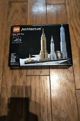 LEGO Architecture New York City (21028). Brand New. Exc. Cond. Free Shipping