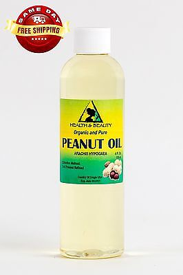 PEANUT OIL REFINED ORGANIC by H&B Oils Center COLD PRESSED PREMIUM PURE 4 - Organic Peanut Oil