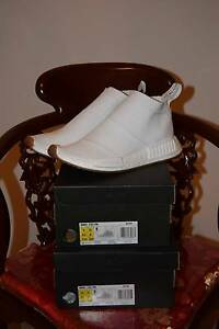 DS US 9 & 10 Adidas NMD City Sock White Gum Pack (BA7208) Mount Gravatt Brisbane South East Preview