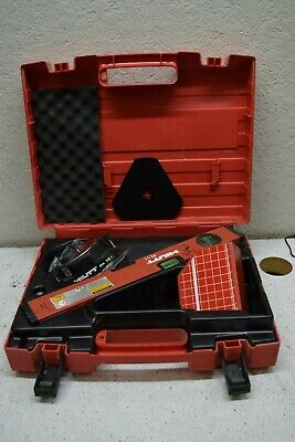 Hilti Pl 11 Laser Level Pa 110120 Target Plate Levelling Plate Pa 151