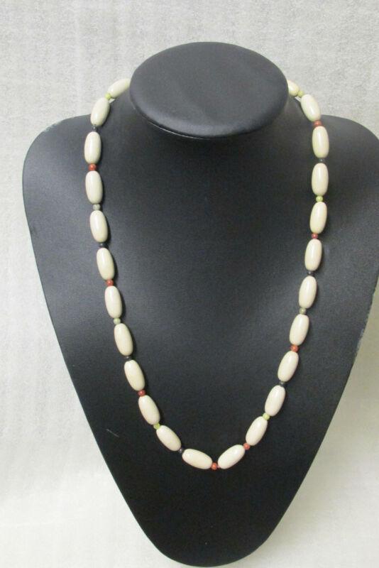 GENUINE Marble Of Ireland(4 Province) Celtic Beaded Necklace Guaranteed Irish A