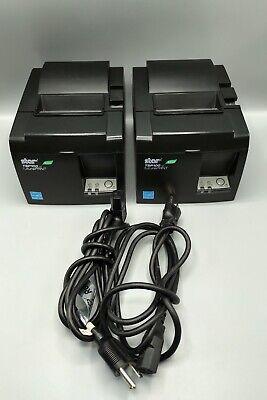 Star Tsp100 Usb Thermal Receipt Printer - Tsp 100ii - Black - Used Working - A4