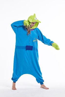 sqlszt Women men Adult Unisex Kigurumi Alien Onesie0 Pajama Cosplay Costume