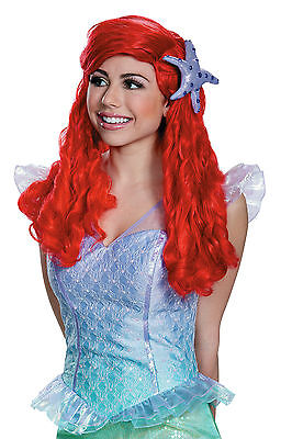 Adult Ariel Wig Little Mermaid  Disney Princess Wig Disguise 98456
