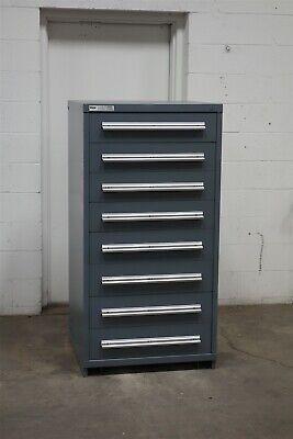 Used Stanley Vidmar 8 Drawer Cabinet Industrial Tool Part Storage 2180