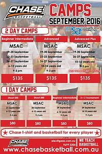 CHASE BASKETBALL SEPTEMBER HOLIDAY CAMPS - WE TEACH BASKETBALL Albert Park Port Phillip Preview