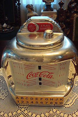 """Coca Cola Jukebox Cookie Jar by Gibson 2000, 10"""" tall by 10 """" wide[a*5]"""