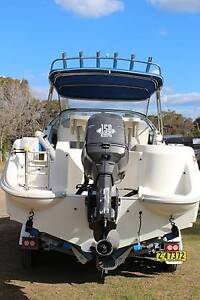 Haines Hunter 585 SF Seeker Winmalee Blue Mountains Preview