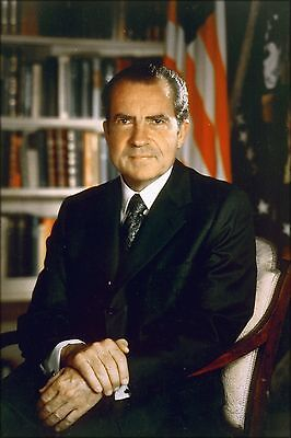 Presidential Poster (Poster, Many Sizes; Richard Nixon, Official Presidential Photograph 1971)