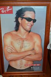For Tennis Fans - a Pat Rafter signed and framed poster Mosman Mosman Area Preview