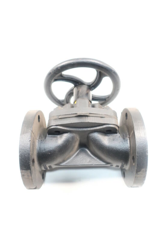 Saunders Dn80 Pn10 Manual Iron Flanged 3in Diaphragm Valve
