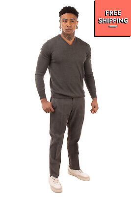 RRP€125 ENTRE AMIS COLLECTION Trousers Size 40 Stretch Garment Dye Made in Italy