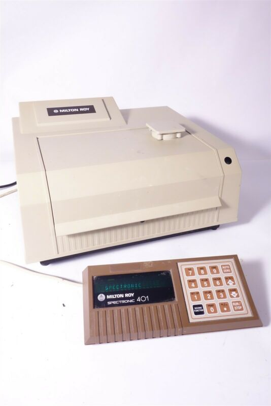 Milton Roy Spectronic 401 Spectrophotometer - TESTED - WORKING CONDITION