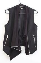 Kardashian Kollection black vest size 8 Canberra Region Preview