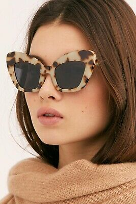 Free People Extrem Cat Eye Sunglasses By I Sea