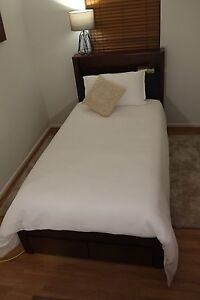 Quality Hardwood King Single Bed Frame - NEW IN BOX Hawthorn Boroondara Area Preview