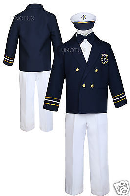 Boy Toddler Wedding Formal Sailor Suit Outfits Sz: 6m To ...