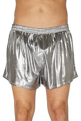 Intimo Men's Liquid Metallic Boxer Short Underwear