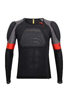 New L/XL Acerbis X-AIR Body Armour Motocross BMX Downhill Neck Brace Compatible