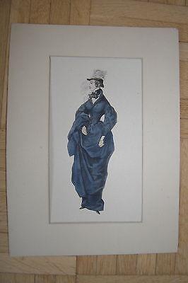 Reiten-kostüm (Mode Druck Damen Reitrock Reiten Kostüm ca. 1870)