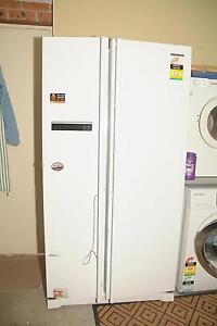 Samsung 598LWhite Side by Side Refrigerator.Model:SRS587ENW Abbotsbury Fairfield Area Preview