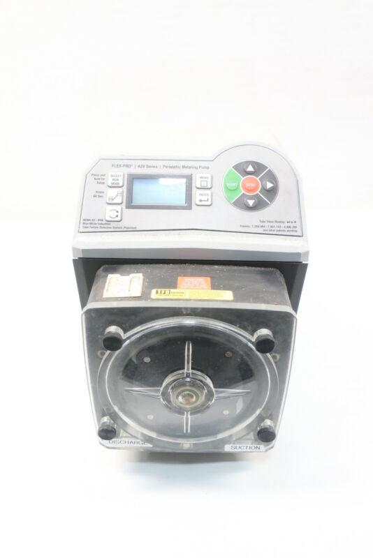 Blue-white A3V24-SNDD Flex-pro Peristaltic Metering Pump 2.1gph 125psi 115v-ac
