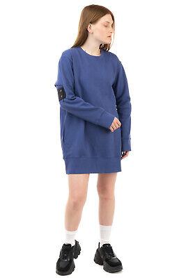 RRP €265 MM6 MAISON MARGIELA Oversized Sweatshirt Dress Size S Made in Portugal