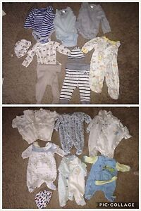 Preemie Boy Outfits and Sleepers- 15 for only $15!