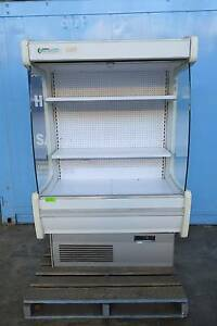 USED GREENLINE 1200MM WIDE OPEN DECK CHILLED DISPLAY FRIDGE Villawood Bankstown Area Preview