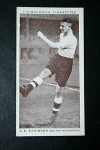 Bolton-Wanderers-Atkinson-1930s-Vintage-Footballer-Photo-Card