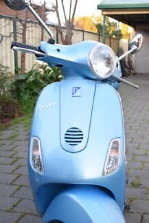 Sky Blue Vespa LX50 2009 model for sale, low km's, only 1 owner Richmond West Torrens Area Preview