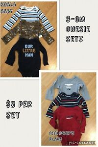 Baby boy fall clothes 0-3/3-6/6m