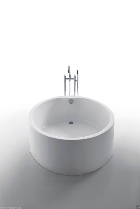 """Acrylic Bathtub - Freestanding - Soaking Tub - Modern Bathtub - Dana - 51"""""""