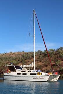 sailing , Darwin to Cairns