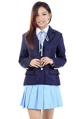 K-On! Cosplay Costume Ho-kago High School Uniform Mugi Kotobuki Tsumugi V2 Set