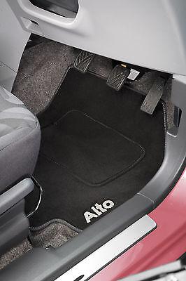 Car Parts - Genuine Suzuki Alto Car Carpet Mats Set of 4 Dark Grey New 990E0-68K41-000