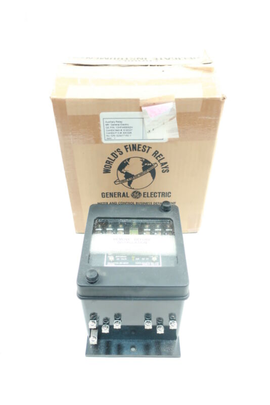 General Electric Ge 12HFA65E62H Protection Relay 125v-dc