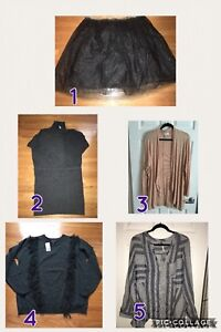 Sweaters, Tops and Skirt 2X & 3X
