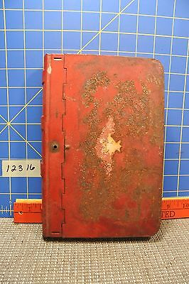 Vintage Tin Book Safe