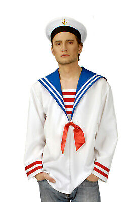 Kostüm Matrosenhemd Schiffsjunge Seefahrer Marine Gr.46-56 Karneval - Schiff Kostüm