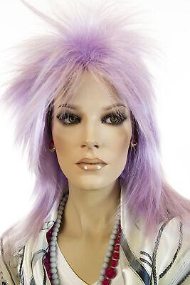 Purple Fun Color Medium Straight Costume Men Wig - Fun Wigs For Men