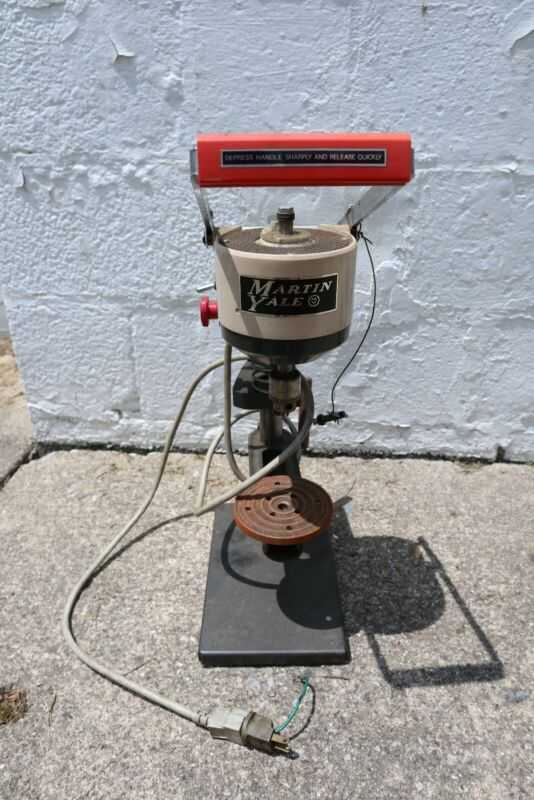 LIHIT LAB Martin Yale Paper Drill Punch with key drill press