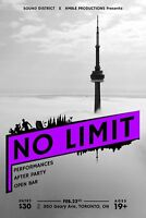 No limit - Open bar and concert