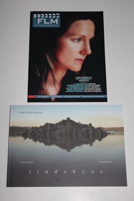 JINDABYNE promotional book + FLM Spring 2007 Laura Linney Gabriel Byrne